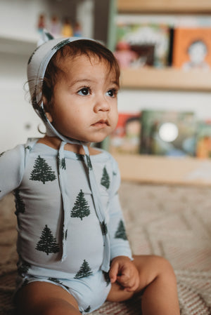 Evergreen Tree Modal Onesie