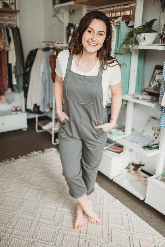 Organic Hemp Relaxed Fit Garden Overalls