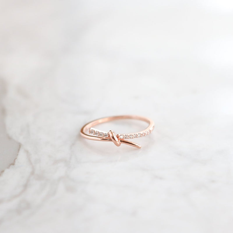 Promise Knot Ring Size 7