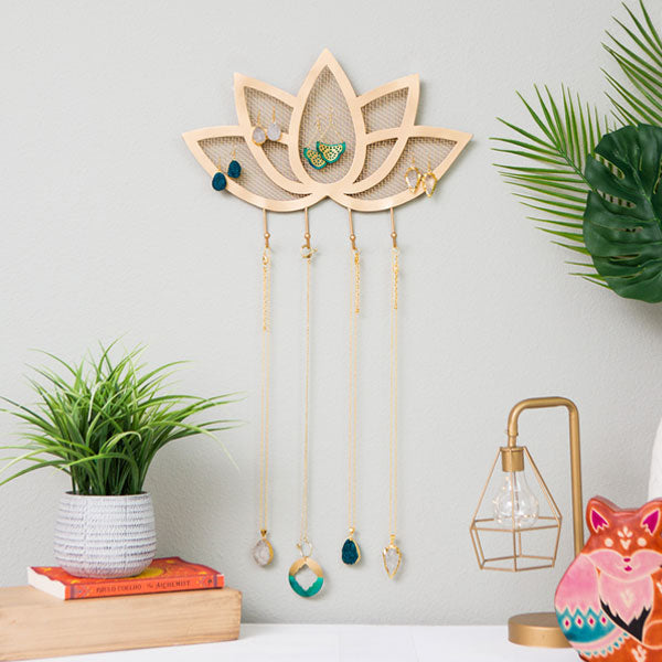 Lotus Jewelry Organizer