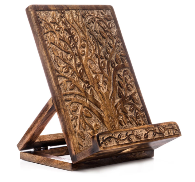 Tree of Life Cookbook + Tablet Stand