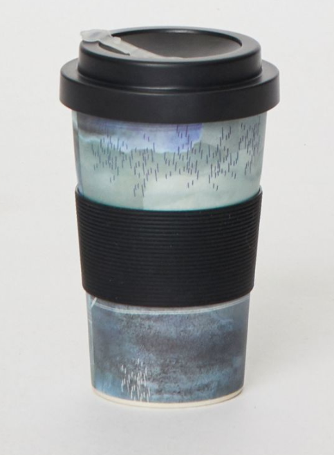 Father's Day Reusable Bamboo Coffee Tumbler and Sock Duo