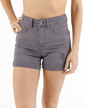 Perfect Midi Shorts - Graphite