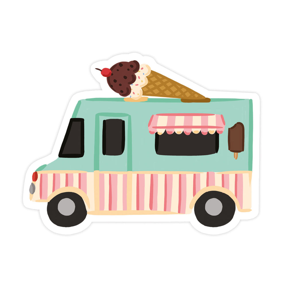 Ice Cream Truck Sticker