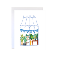 Greenhouse Thank You Card