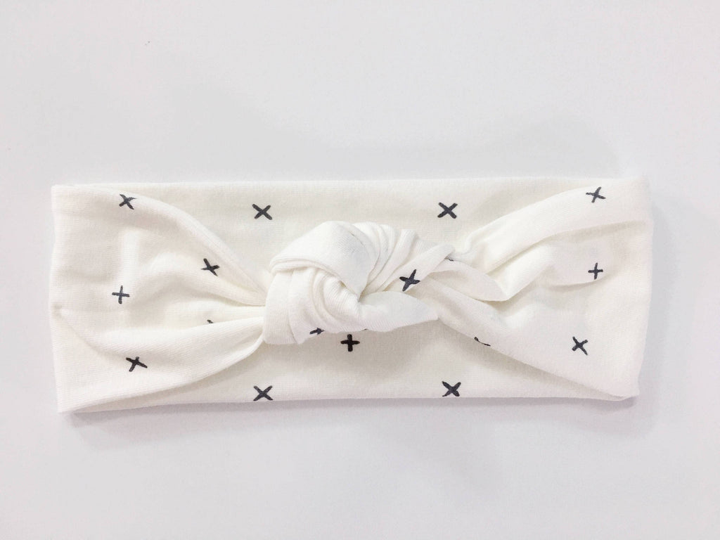 X + Top Knot Headband