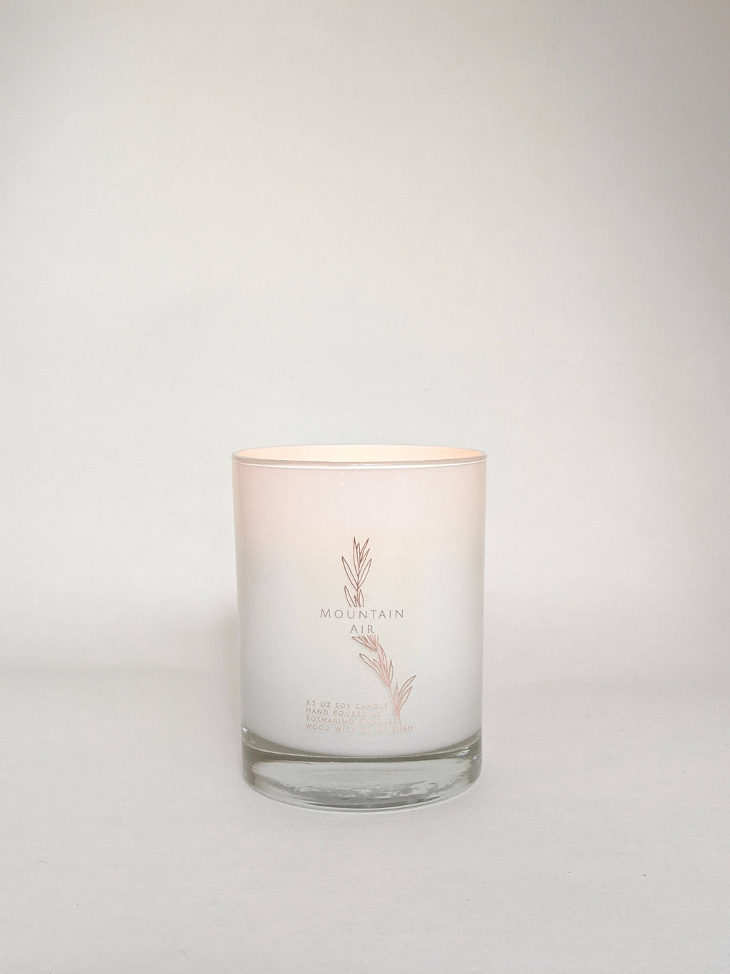 Mountain Air 9.5 oz Wood Wick Candle