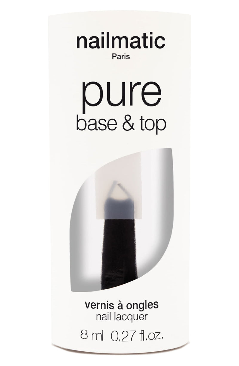 Non-Toxic Women's Polish - Base + Top Coat Combo
