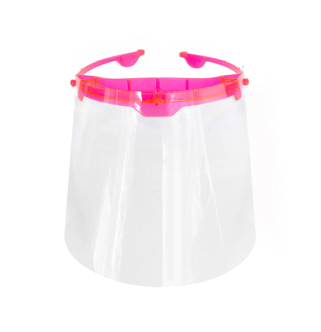 Pink Halo Face Shield