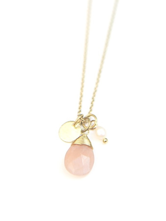 Sweet Pearl Necklace - Gold
