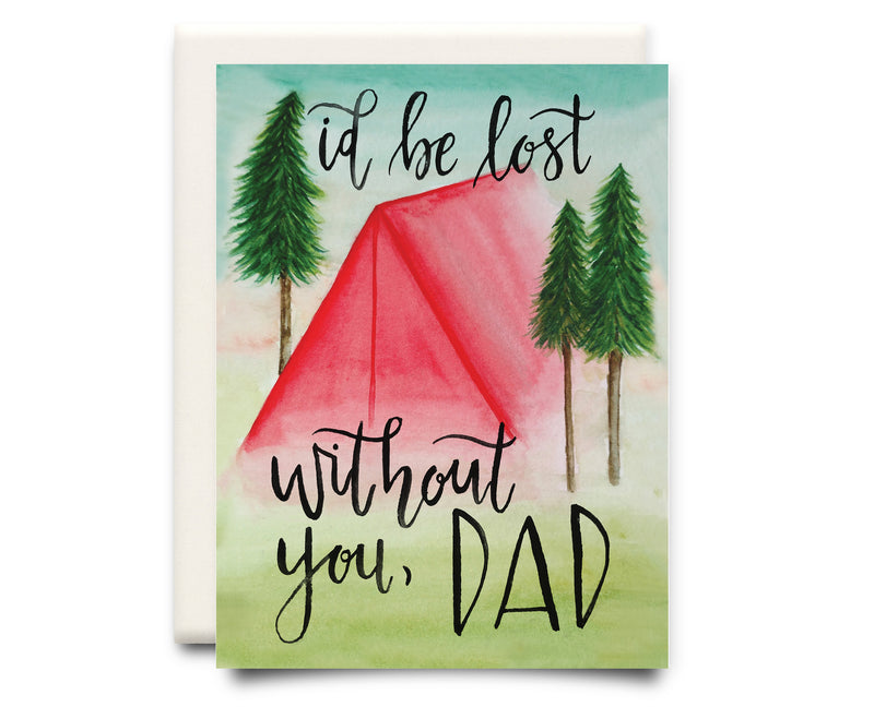 Lost Without You, Dad | Father's Day Card