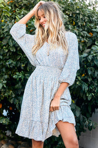 Magnolia Sleeve Dress