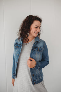 Light Wash Everyday Denim Jacket