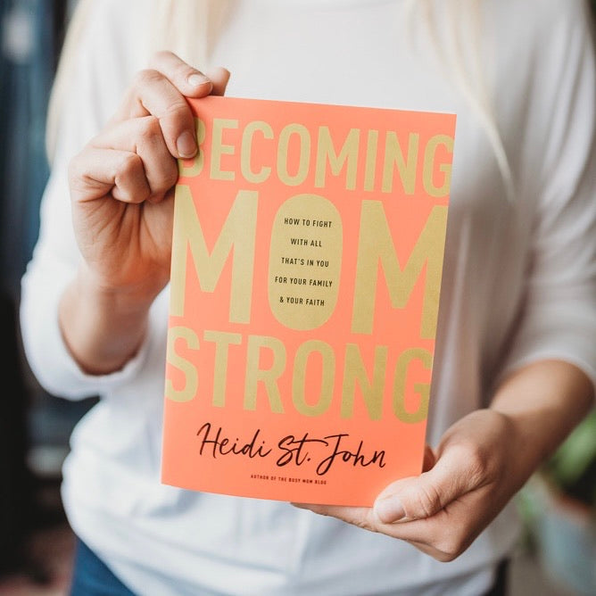 Becoming Mom Strong Book