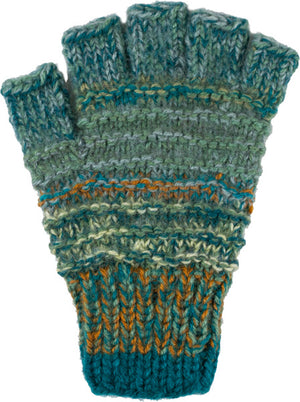 Peruvian Hand Knit Infinity Gloves