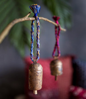 Fair Trade Ice Bell Ornament