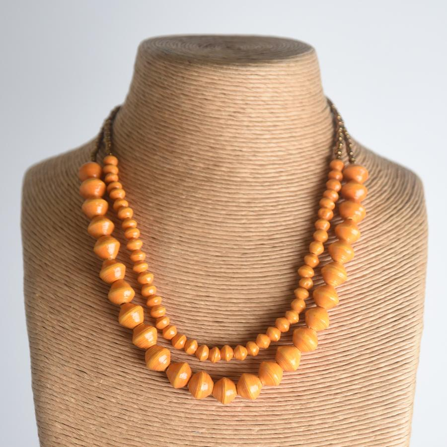 Sunrise Necklace - Canteloupe