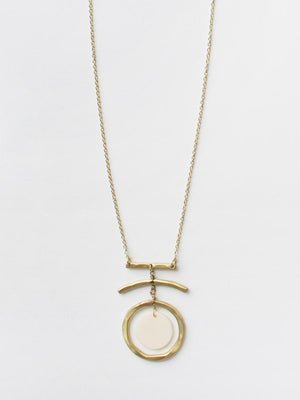 Summer Moon Necklace
