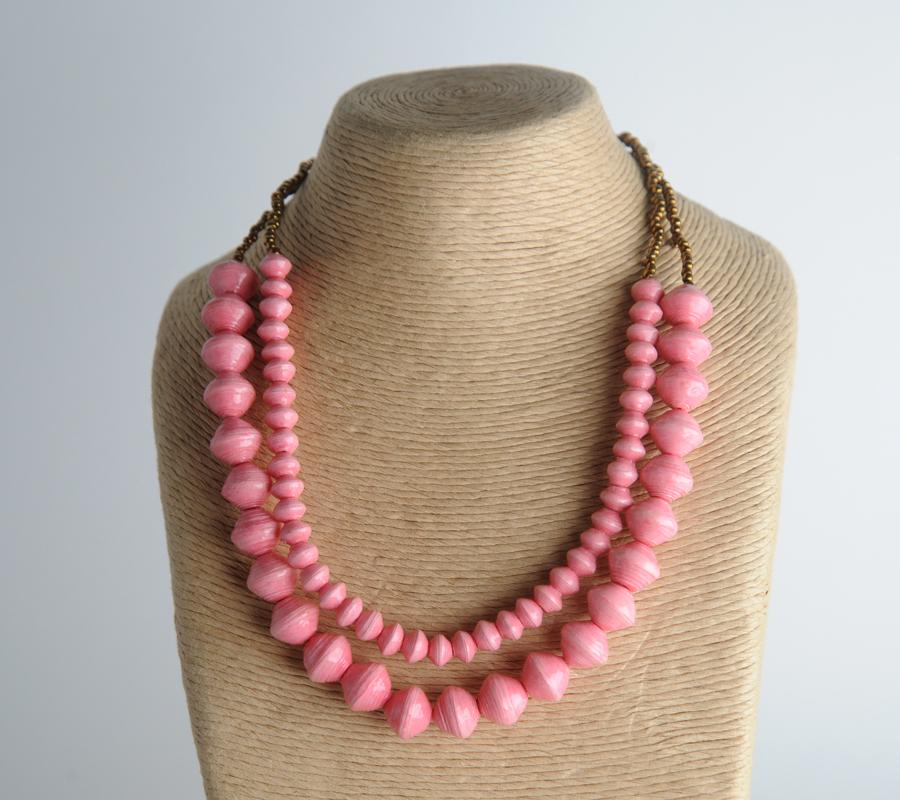 Sunrise Necklace - Pink