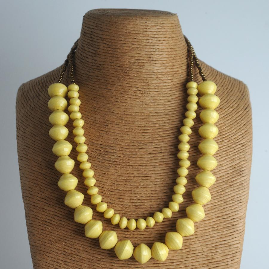 Sunrise Necklace - Yelloww