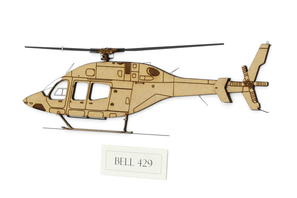 Bell 429 helicopter art