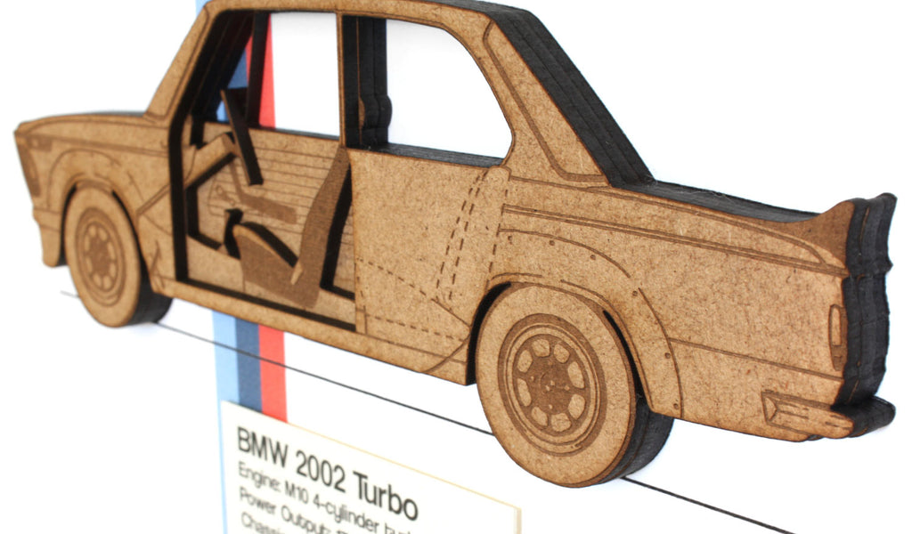 BMW 2002 Turbo art, BMW Decor