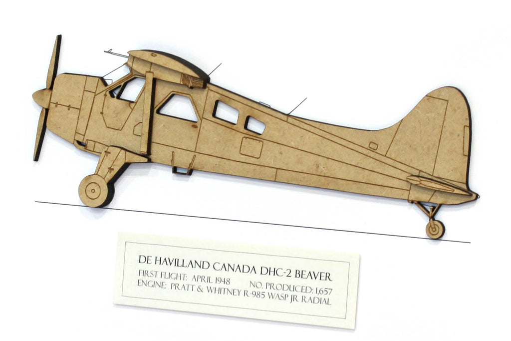 de Havilland Canada DHC-2 Beaver artwork