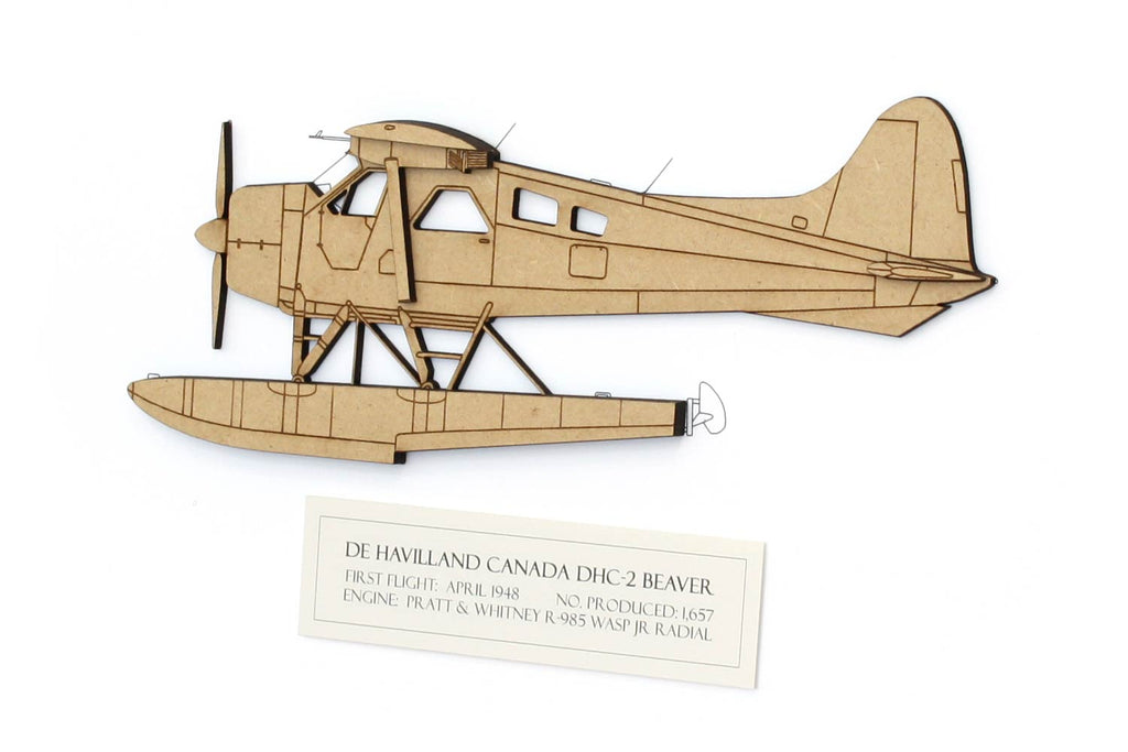 De Havilland Canada DHC-2 Beaver floatplane art