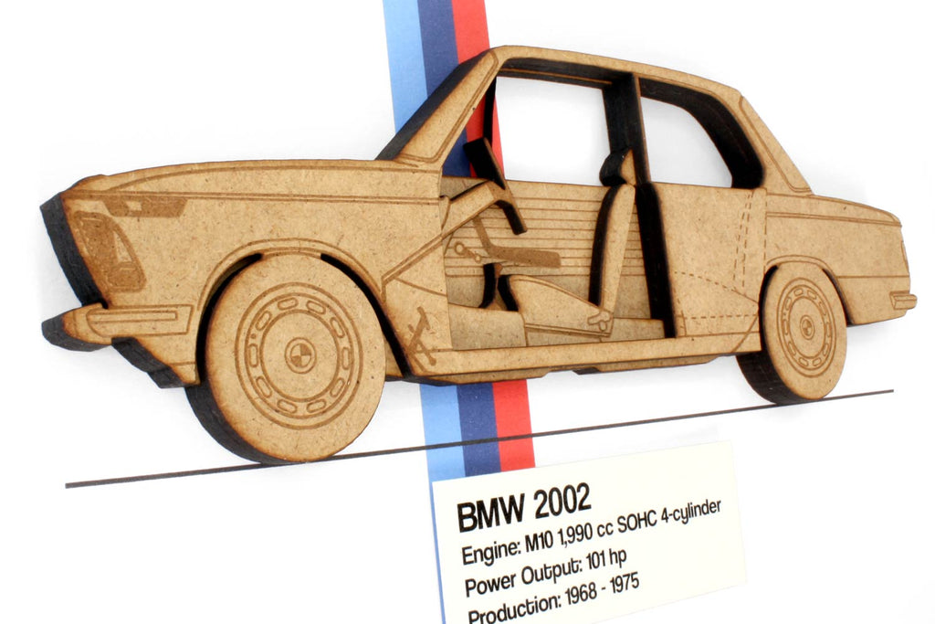 BMW 2002 blueprint art and gifts