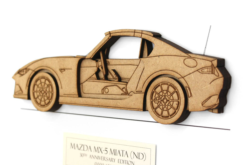 Mazda MX-5 Miata ND 30th Anniversary Edition (30 AE) bluprint art