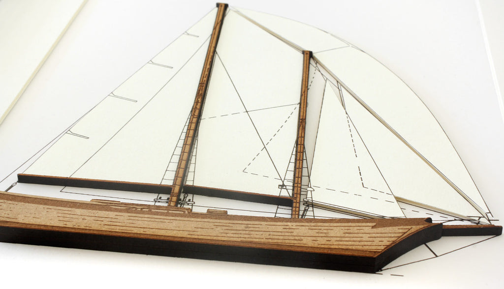sailboat nautical decor