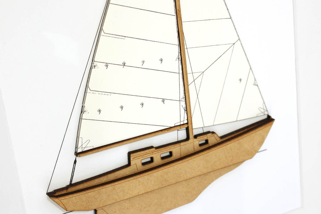 sailboat decor, nautical home decor