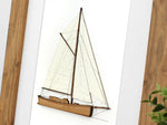sailboat art, nautical decor