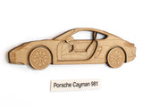 Porsche Cayman 981 art gifts