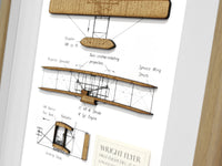 Aircraft Art, Wright Brothers airplane