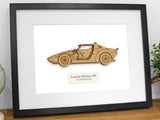 Lancia Stratos custom art