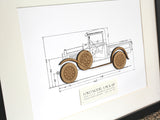 Ford Model A pick up wall art gift