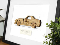 MAzda MX-5 Miata 30th Anniversary Edition art gift