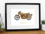 Norton Commando motorcycle art
