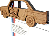 BMW 2002 Turbo blueprint wall art