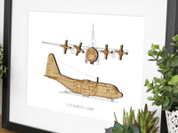 Lockheed C-130-H aviation gifts