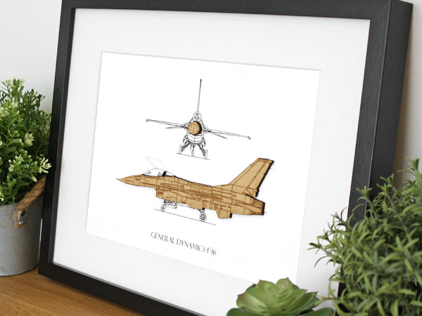 Lockheed F-16 Aviation gifts