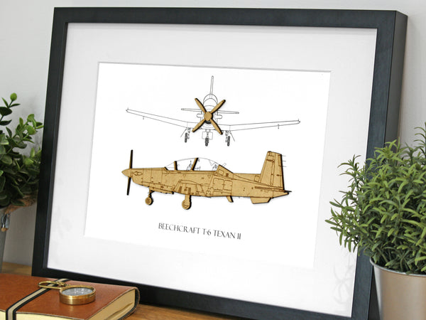 T-6 Texan II aviation gifts