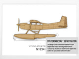 Cessna 185 custom aviation gifts