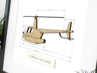 Robinson R44 Clipper helicopter gifts