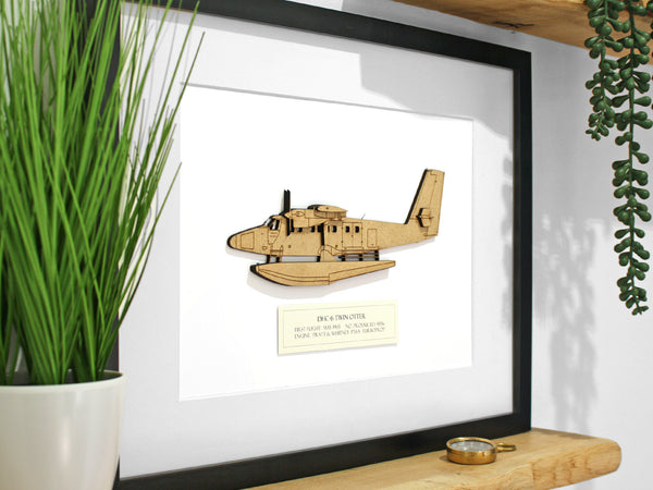 DHC-6 Twin Otter aviation art