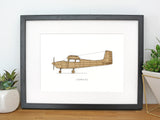 Cessna 172 square tail aviation gifts