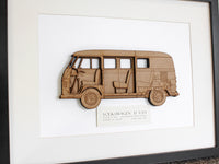 VW T1 Splitscreen blueprint art