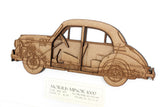 Morris Minor wall art gift