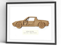 Porsche 914 gifts, blueprint art